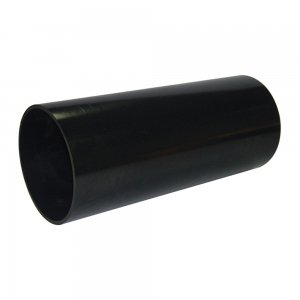 Soil Pipe Plain End 3m Black