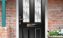 Composite Door Front Black B