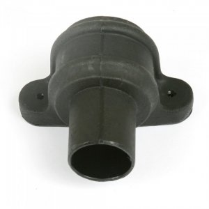 Cast Iron Style 68mm Round Eared Downpipe Coupler