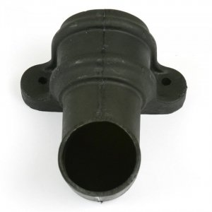 Cast Iron Style 68mm Round Downpipe Shoe With Lugs