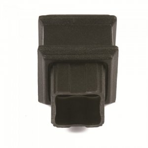 Cast Iron Style 65mm Square Downpipe Coupler