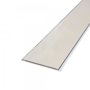 Decorative Ceiling Gloss Cream Silver Trim