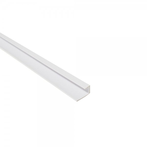 Mbwt02 P White Plastic End Profile Maxi Panel